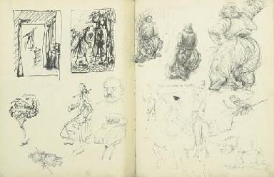 Stu's Art School Sketchbook