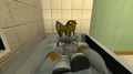 Tails in the tub - miles-tails-prower photo