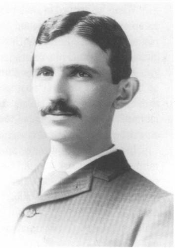 Nikola Tesla wallpaper titled Tesla in 1892.JPG