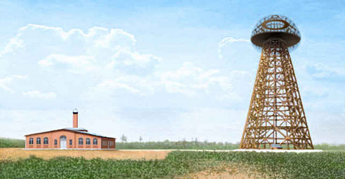 "Wardenclyffe Tower in 1903 bởi ""Stanford White"""