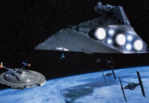 The Enterprise Battles the Empire