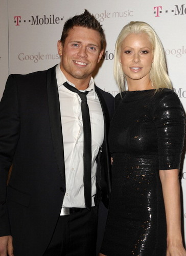 """The Miz and Maryse at """"The Launch of Google Music"""""""