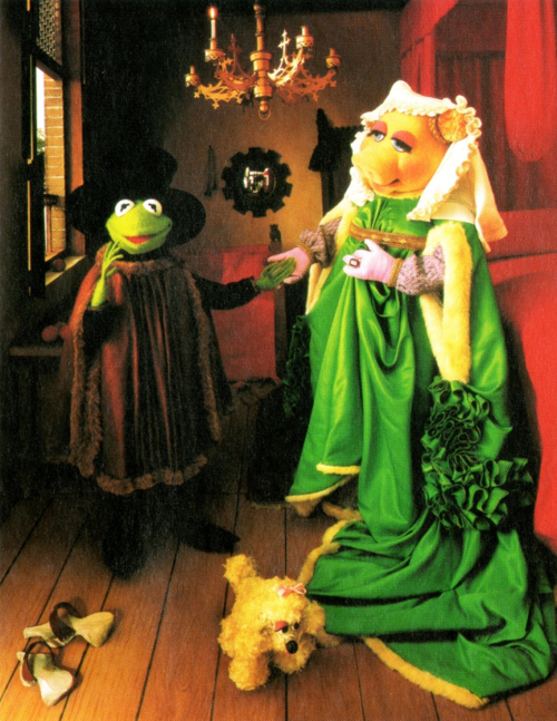 Famous Art Parody Muppets Fine Art Parody