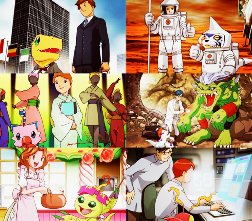 The amazing world of Digimon! ..