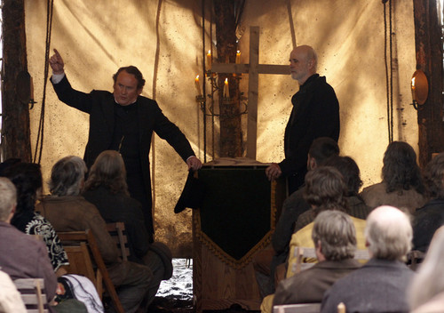Thomas Durant and Reverend Cole in Episode 3