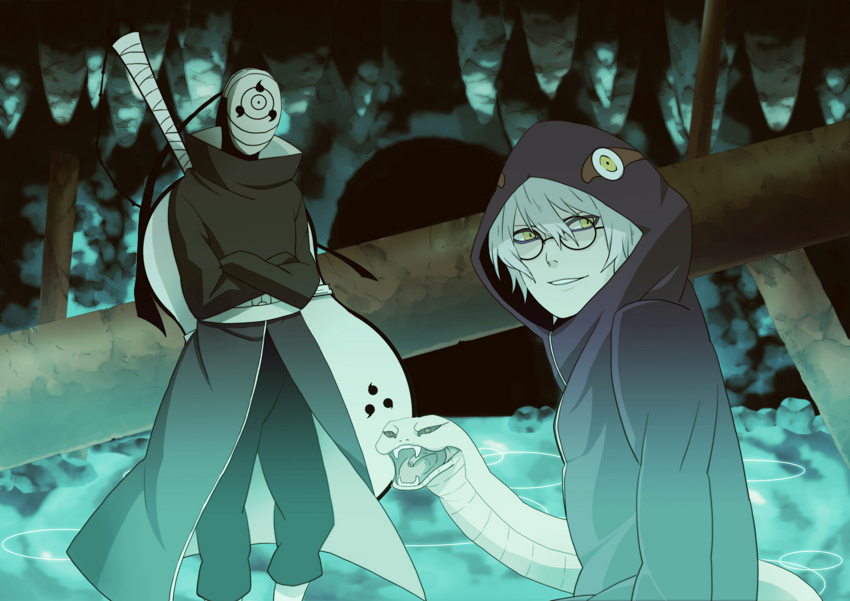 Tobi and Kabuto