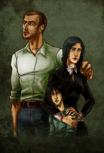 Tobias Snape, Eileen Prince, and little severus