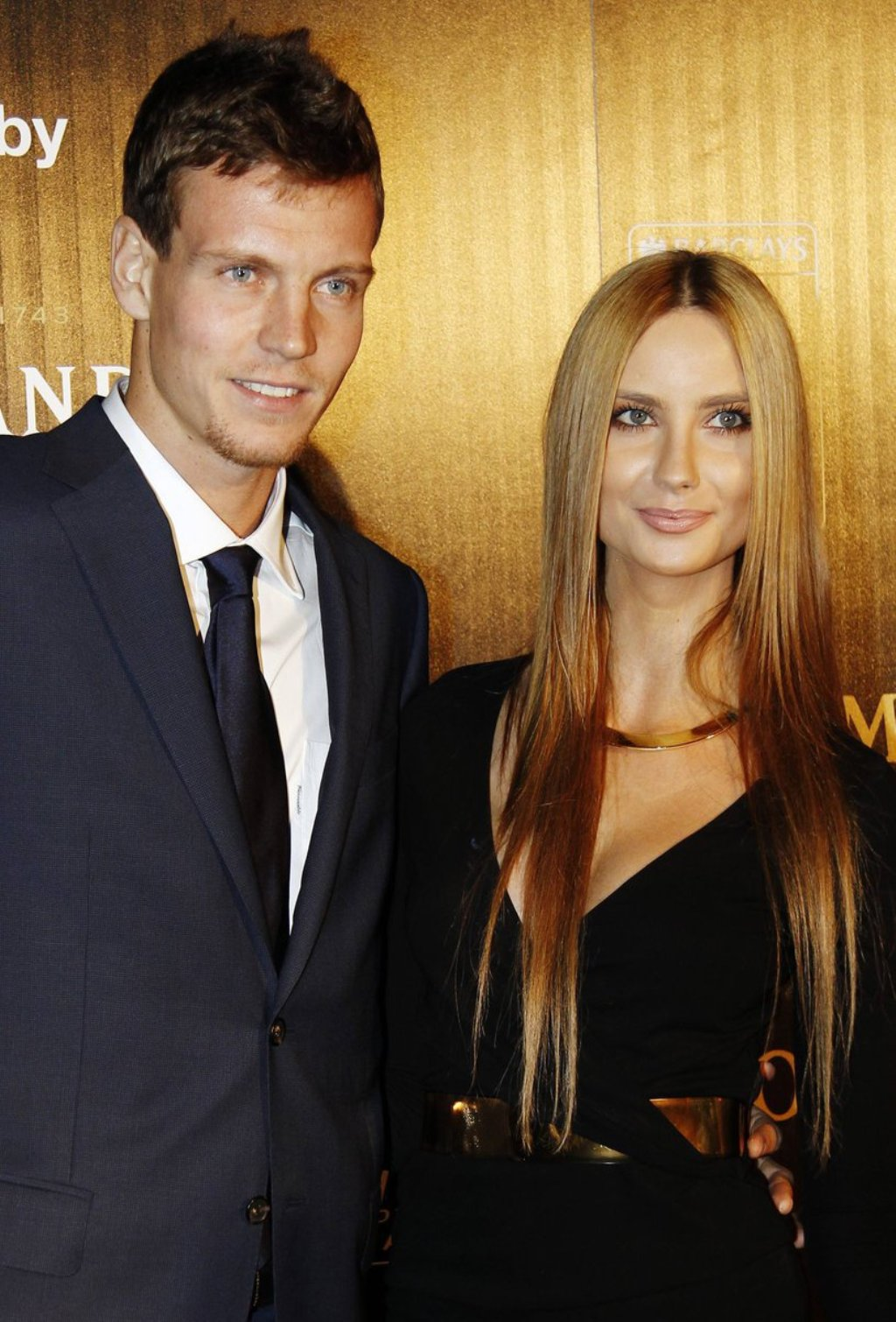 Tomas Berdych with beautiful, Girlfriend Esther Satorova