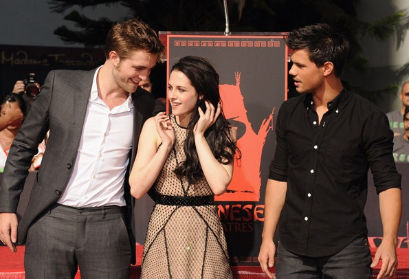 "Twilight Stars' at the hand print ceremony in Hollywood ""3RD NOV 2011"""