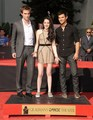 "Twilight Stars' at the hand print ceremony in Hollywood ""3RD NOV 2011"" - twilight-series photo"