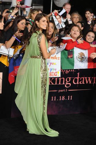 Venezuela en la Premier de Breaking Dawn Part 1 (Amanecer) en Los Angeles