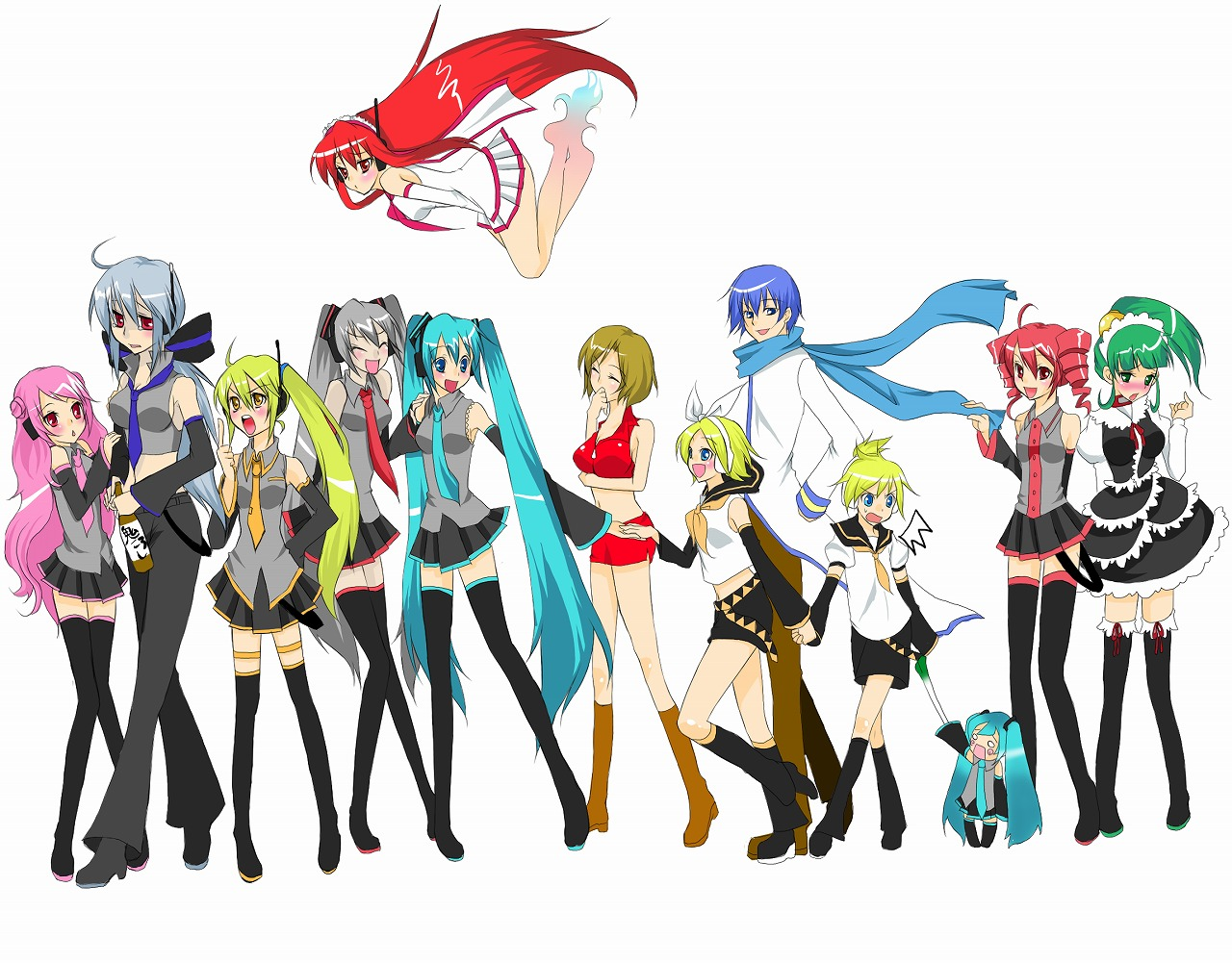 Vocaloid-vocalo... Vocaloid Names List