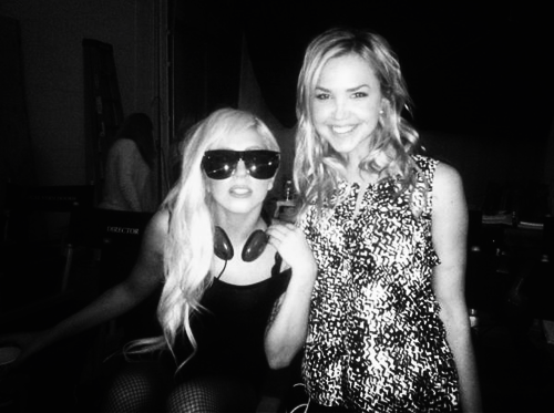 WOW LEXI WITH LADY GAGA :O