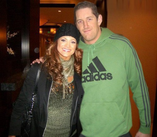 Wade Barrett and Eve Manip