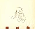 Walt Disney Sketches - Alice