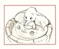 Walt Disney Sketches - Dumbo