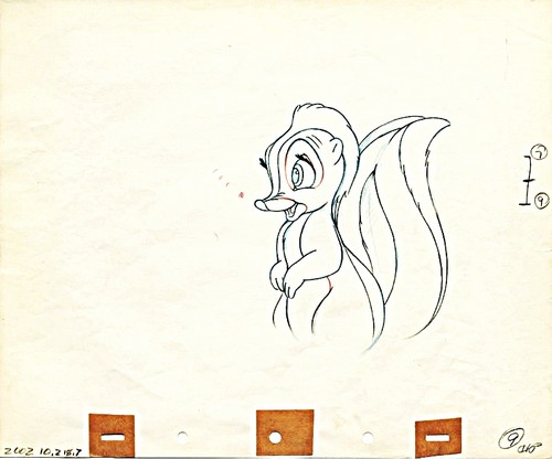 Walt disney Sketches - flor