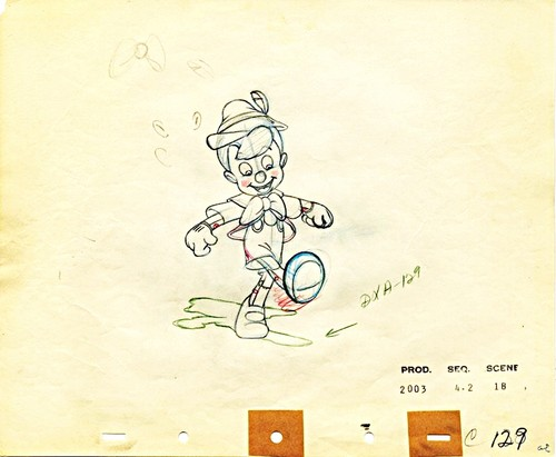 Walt Disney Sketches - Pinocchio