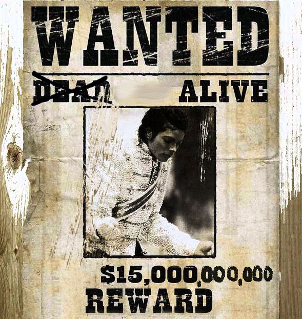 wanted  alive - michael jackson fan art  26985129