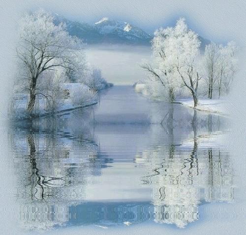 Christmas wallpaper entitled Winter Scene