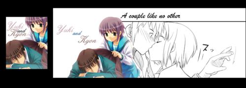 Yuki x Kyon fanart