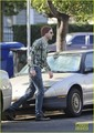 Zachary Quinto: Suspenders in Silverlake - zachary-quinto photo