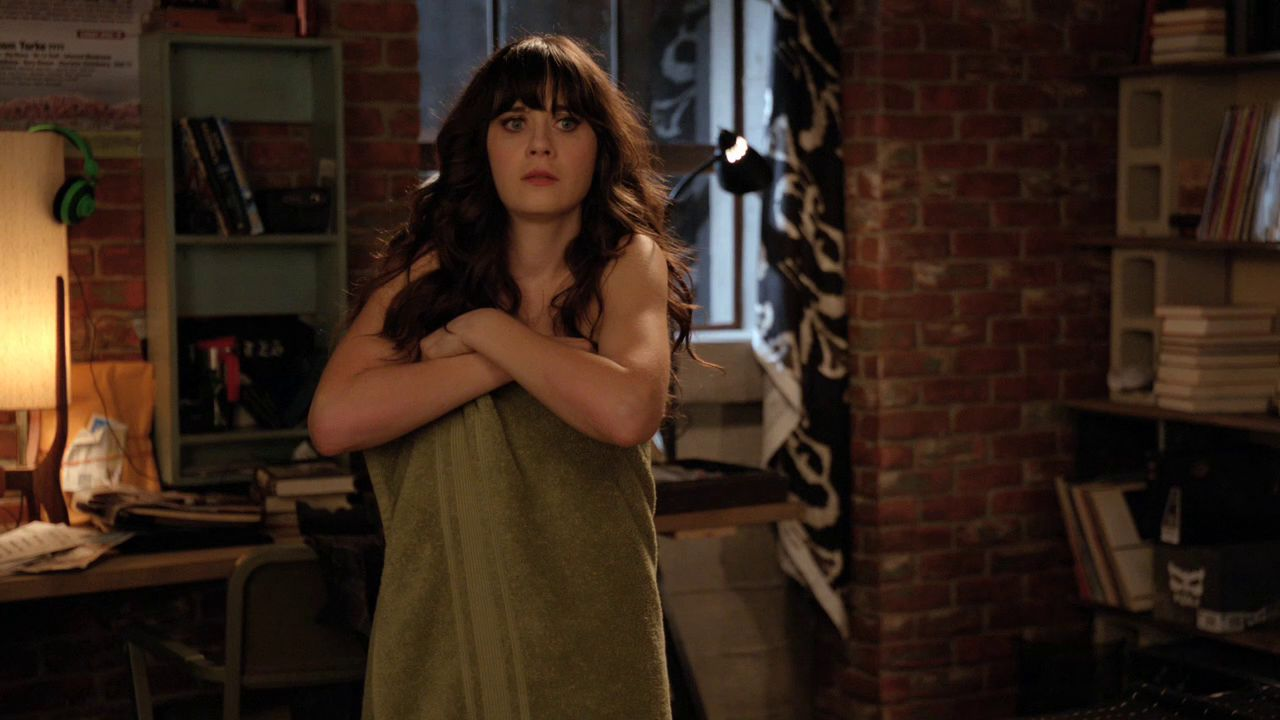 Zooey Deschanel in New Girl - Naked - 1.04