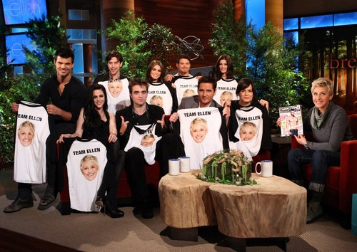 cast breakin dawn with ellen