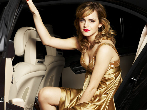 Emma Watson Hintergrund containing an automobile called emma