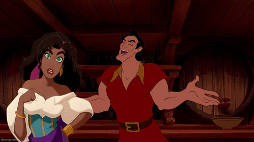 esmeralda and gaston