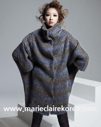 f(x)'s Victoria for Marie Claire Korea