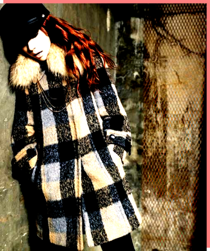 Han Hyo Joo wallpaper with a fur coat entitled hyo joo