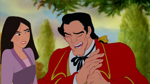 Mulan and gaston