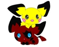my pichu sara - electric-type-pokemon photo