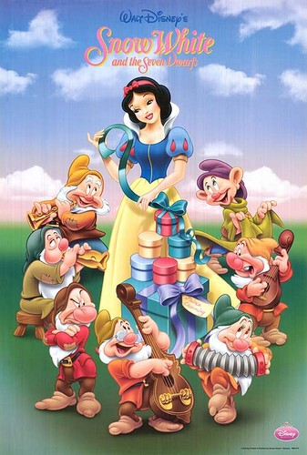 Snow White and the Seven Dwarfs wallpaper called poster