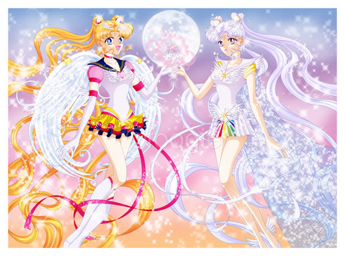 Sailor Moon Sailor Stars karatasi la kupamba ukuta called sailor moon