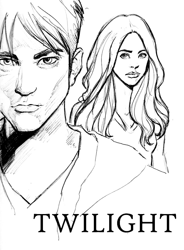 Twilight coloring book pages ~ twilight (o_o) - Twilight Anime Fan Art (26902997) - Fanpop