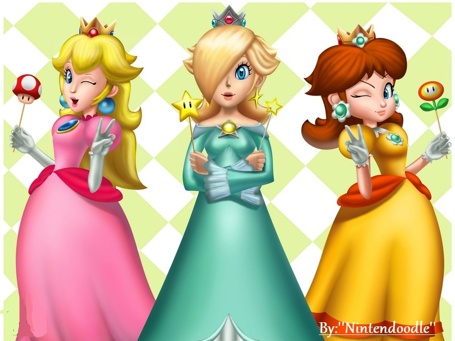 3 Princess Mario Princesses Photo 27035699 Fanpop