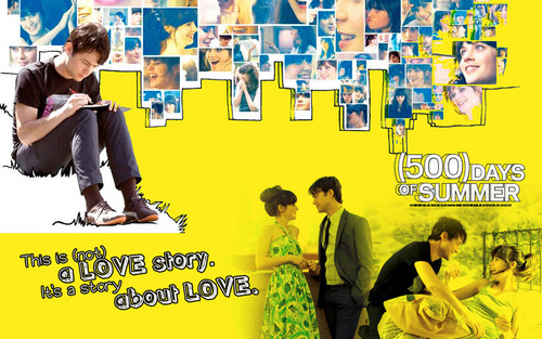 500 Days of Summer wallpaper with a sign entitled 500DaysOfSummer!