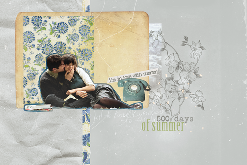 500 Days of Summer wallpaper possibly containing a newspaper and a sign titled 500DaysOfSummer!