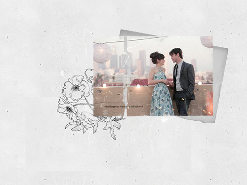 500 Days of Summer wallpaper probably containing a sign and alcohol entitled 500DaysOfSummer!