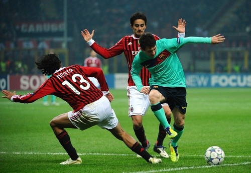 AC Milan (2) v FC Barcelona (3) - UEFA Champions League [Second Leg]