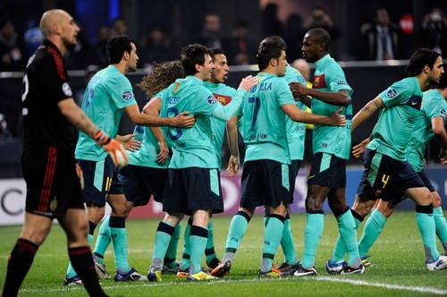 AC Milan (2) v FC Barcelona (3) - UEFA Champions League [Second Leg]