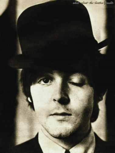 Paul McCartney Wallpaper Containing A Fedora Snap Brim Hat And Business Suit