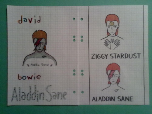 Ziggy Stardust wallpaper titled Aladdin & Ziggy