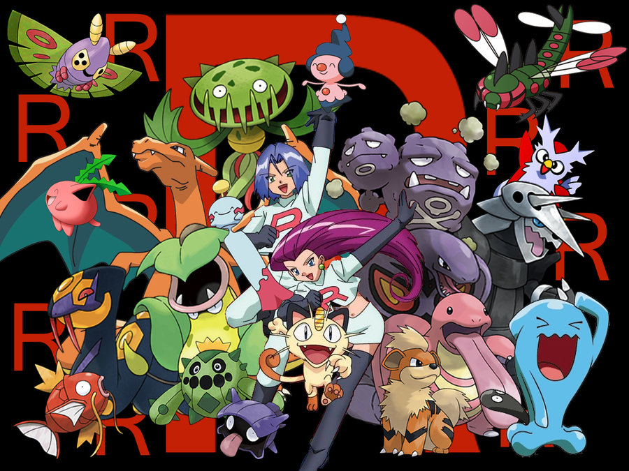 All of Team Rocket's Pokemon