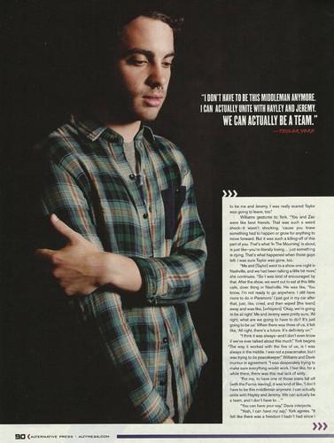 Alternative Press Magazine Outtakes