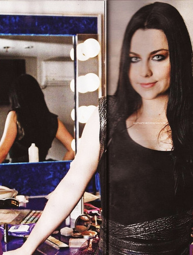 Amy Lee in Kerrang!