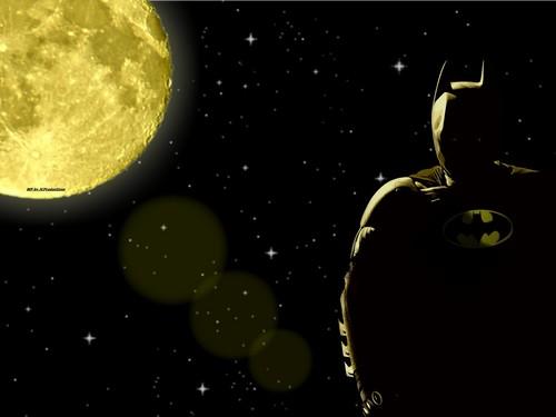 DC Comics karatasi la kupamba ukuta possibly with a sporozoan, a protozoan, and an embryonic cell entitled Batman