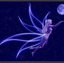 Blue Neon Fairy